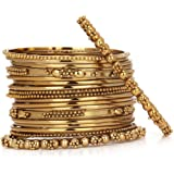 JDX Traditional Indian Bangles Set