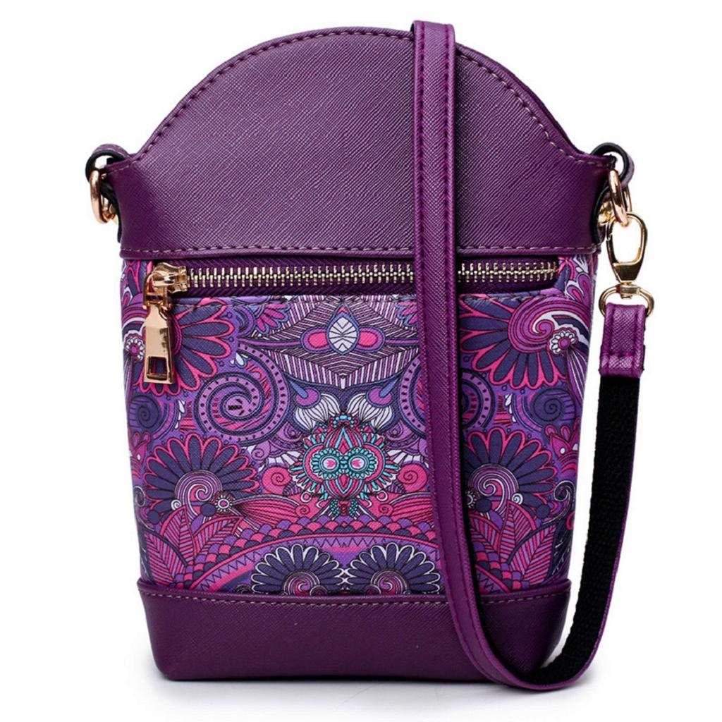 QUICKLYLY Bolsa Mano de Mujer de Playa Lona Grande Bolso de Shopper con Cremallera de Hombro,Mano Rainbow Color Retro Costura Contraste()