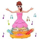 Girl Dancing Princess Multi Function Music Doll LED Pet Electronic Robot Y1205 For Kids
