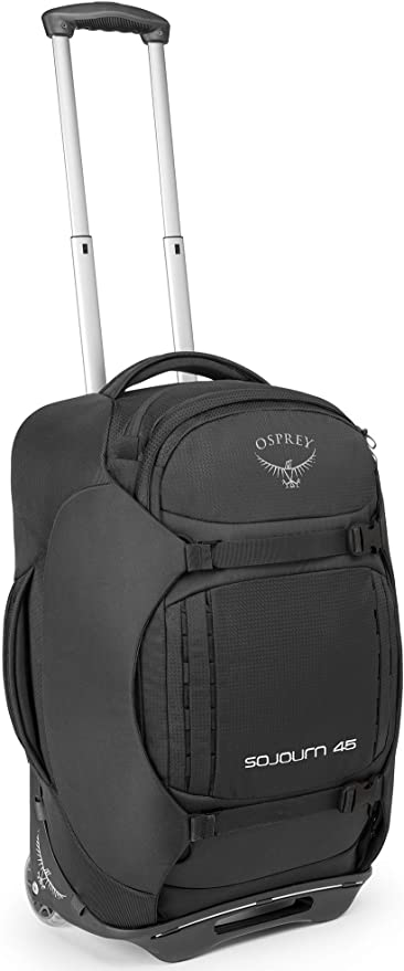 Flash Black One Size Osprey Sojourn 80 Unisex Luggage