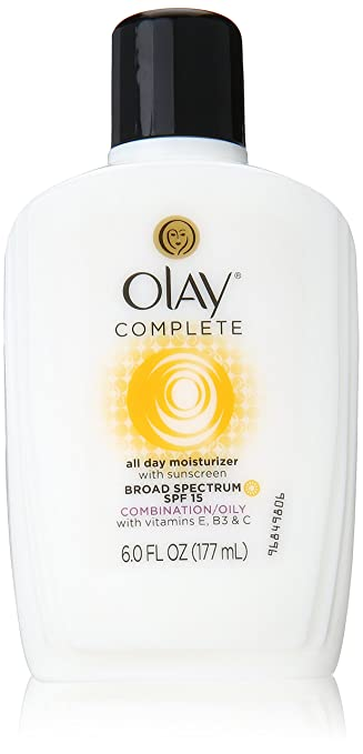 Olay Complete All Day Moisturizer Broad Spectrum SPF 15 - Combination/Oily Skin