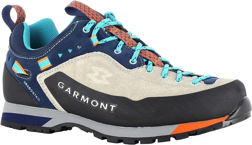 Garmont Dragontail LT WMS - Zapatillas de deporte para mujer, ligeras, con suela vibratoria, color Gris, talla 39.5 EU: Amazon.es: Zapatos y complementos