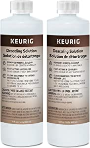 Keurig Descaling Solution Brewer Cleaner, Includes 28 oz. Descaling Solution, Compatible with Keurig Classic/1.0 & 2.0 K-Cup Pod Coffee Makers (28 Oz)