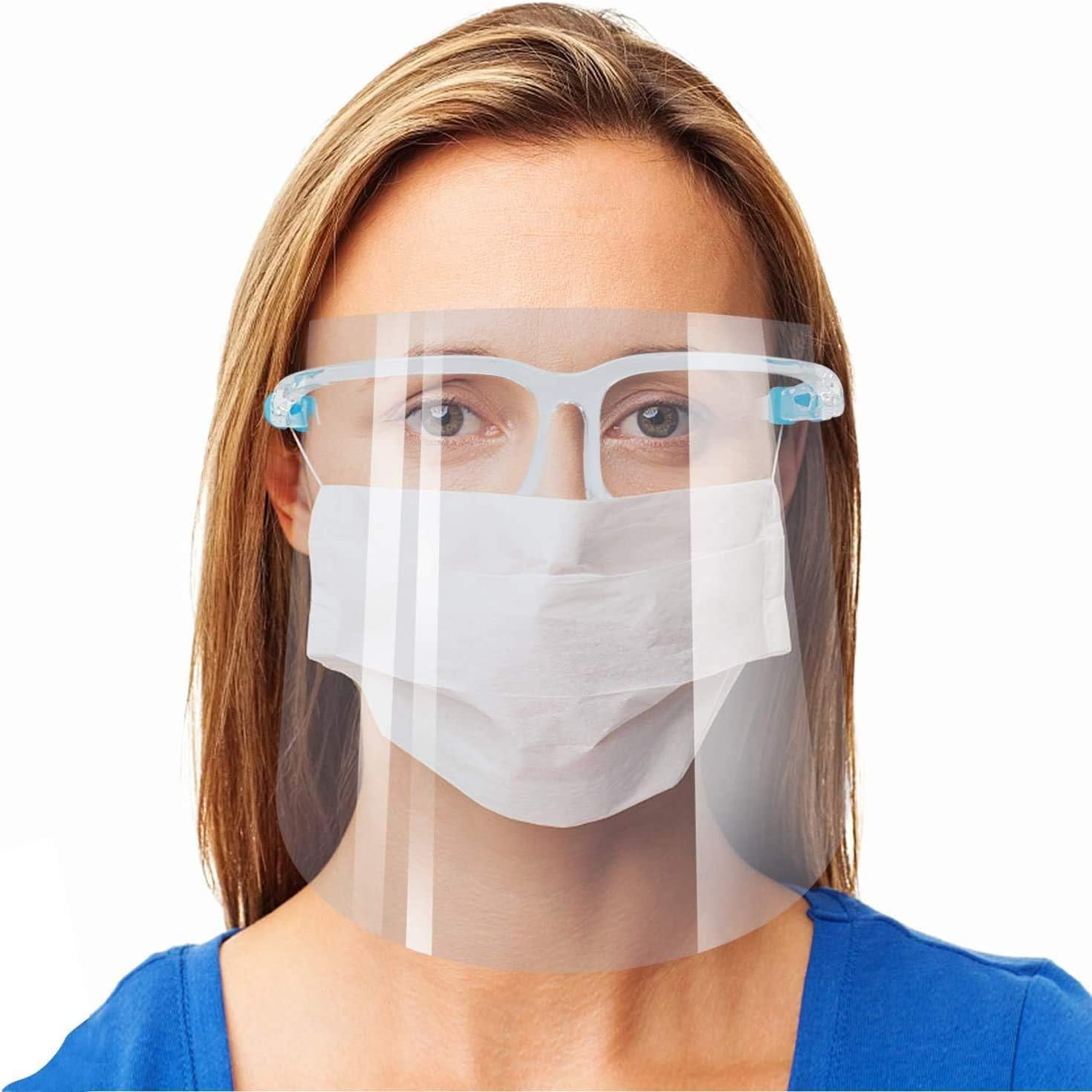 20PC Childen Fog-Accesorio Gratuito para mascarillas faciales Evita Que los anteojos se empa/ñen Soporte de mascarilla Facial Marco de Soporte Interno Tira de Puente Nasal de Silicona antivaho