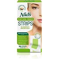 Nad's Facial Wax Strips 20's, 0.156 kilograms