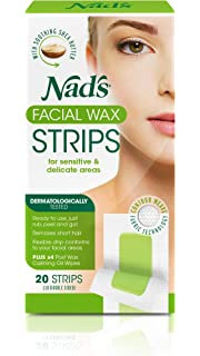 Nads Facial Wax Strips 20s