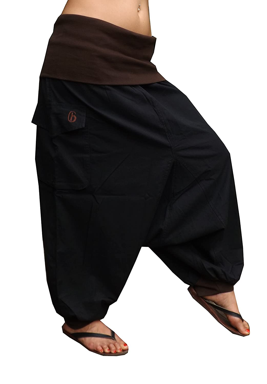virblatt harem pants unisex onesize S-L aladdin pants alternative clothing - Morgen