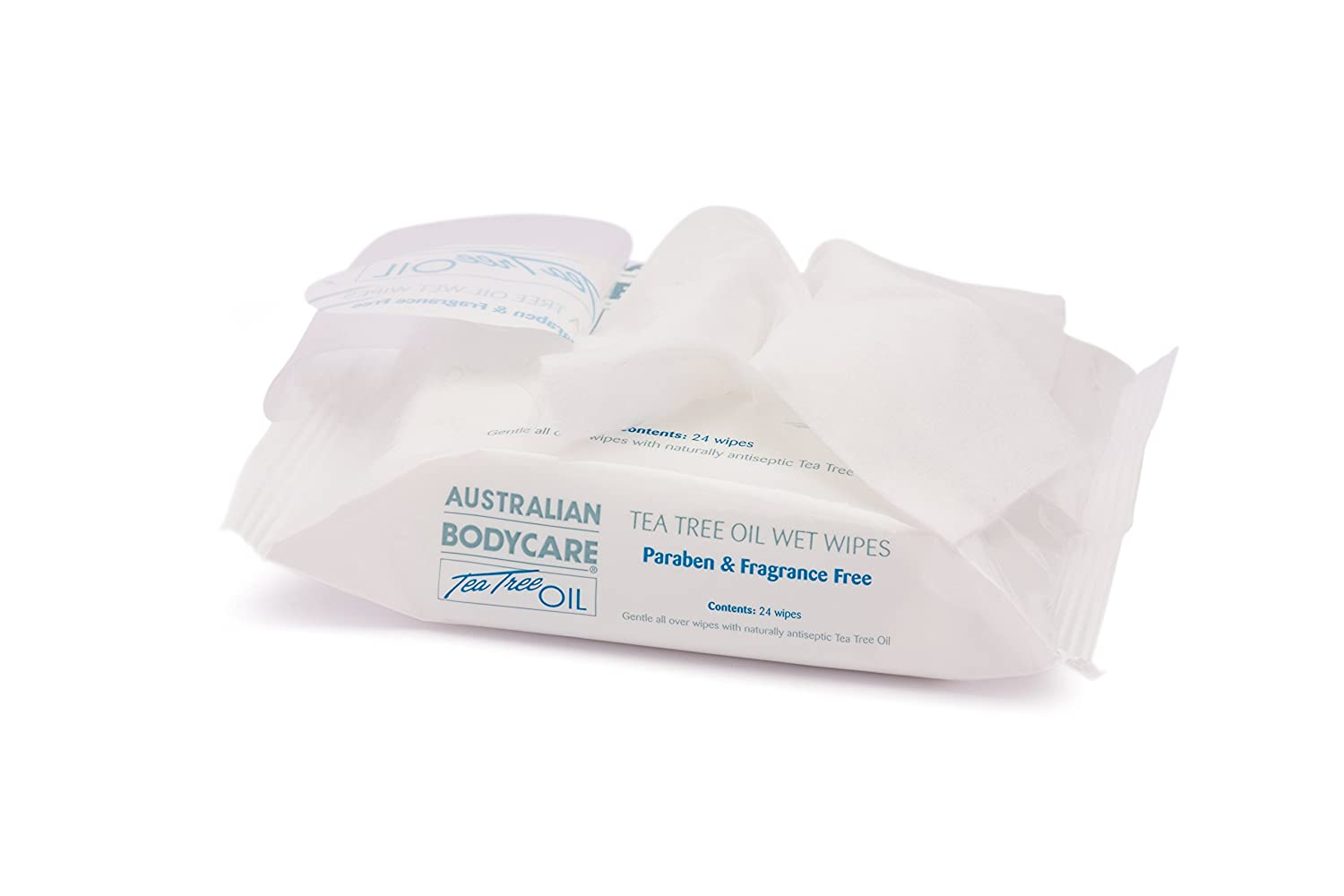 Australian Bodycare Tea Tree Oil Handy Pack Wet Wipes Australian Bodycare UK Ltd AB6032-72
