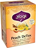 Yogi Teas Detox Peach Tea Bags, 16 Count