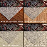 Non-Slip Area Rug Pad 8 x 10 For Hard Surface