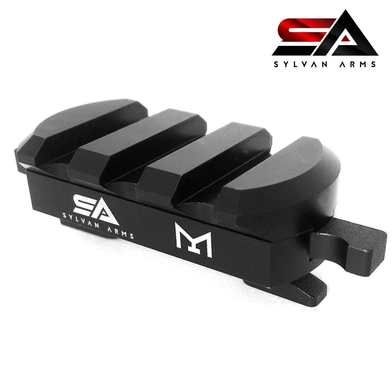 Sylvan Arms Quick Release Detach Tool Less CAM Adapter Picatinny MLOK Rail by Sylvan Arms