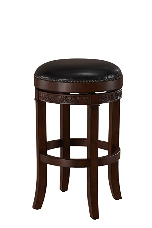 Wondrous American Heritage Billiards Portofino Bar Height Stool Brown Gmtry Best Dining Table And Chair Ideas Images Gmtryco