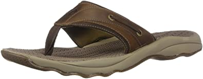 e10d97db56bb SPERRY Men s Outer Banks Thong (Box) Flat Sandal