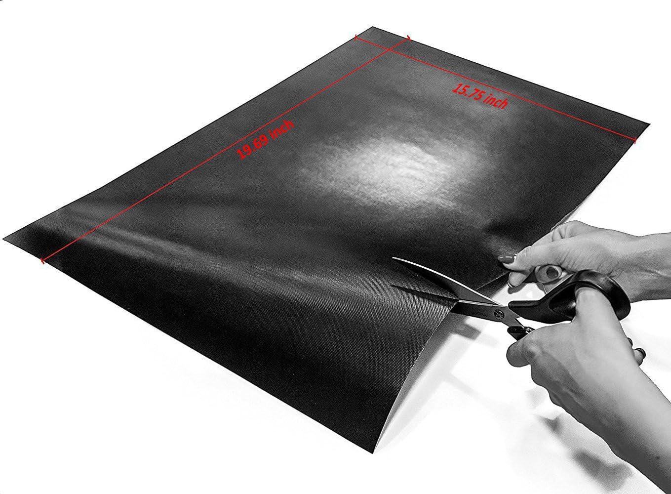 oven Liner 100/% non-stick multifunctionele koken liner Universele Teflon BBQ 2er Set bakken