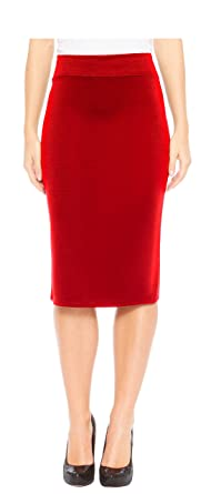 4cccf005652af Red Hanger Women s Below The Knee Pencil Skirt for Office Wear (Small