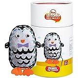 Toiing Stitchtoi-DIY Felt Toy Stitching Kit for Kids Age 5-10 Years (Penguin)