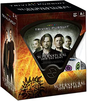 USAopoly Supernatural Trivial Pursuit Juego De Mesa: Amazon.es ...