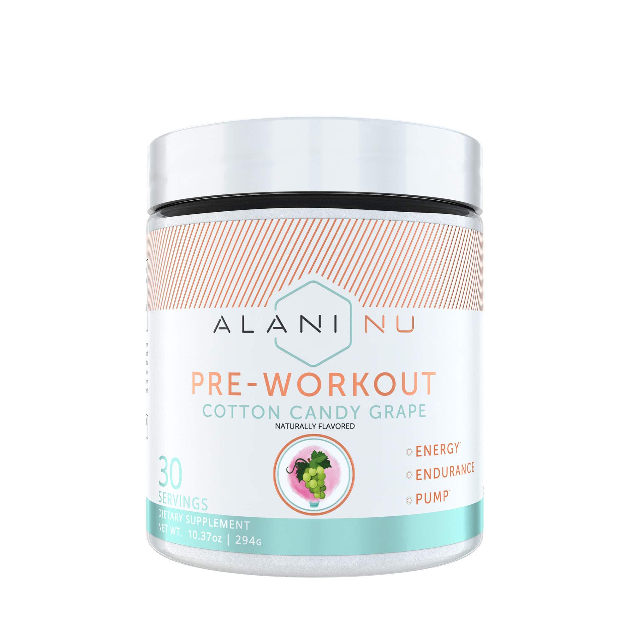 Alani Nu Pre-Workout - Cotton Candy Grape by Alani Nu