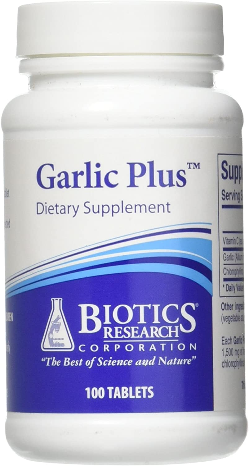 Biotics Research Garlic Plus 100 tablets