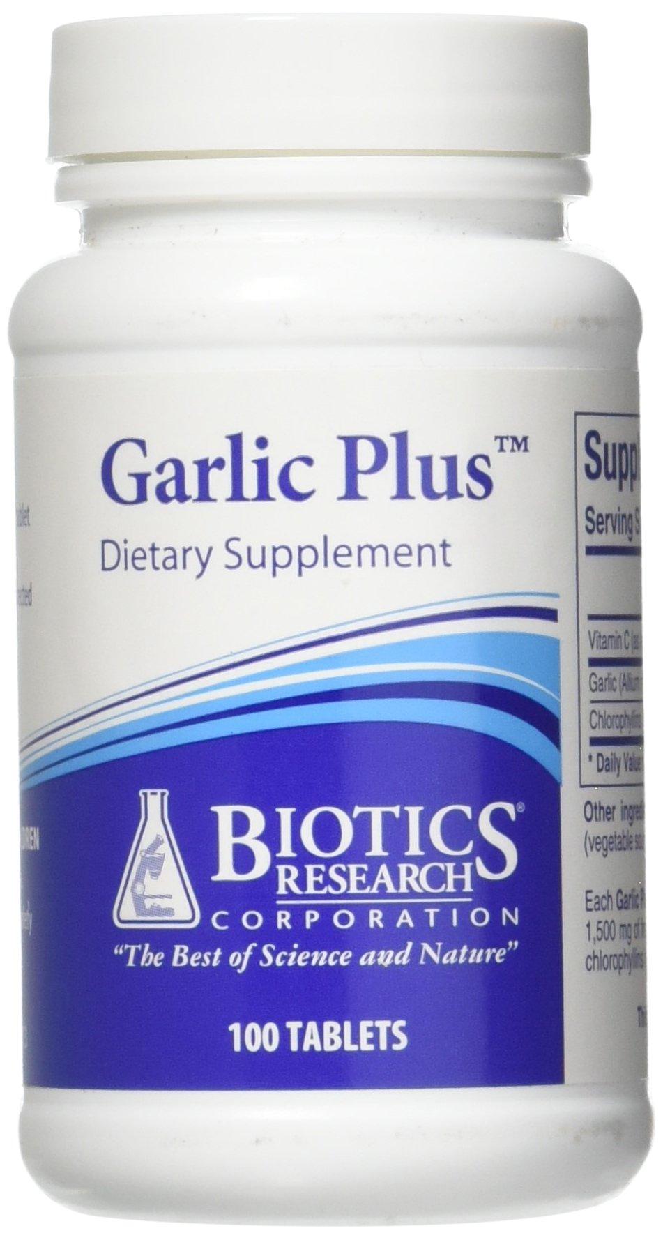 Biotics Research Garlic Plus 100 tablets