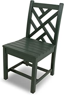 product image for POLYWOOD CDD100GR Chippendale Dining Side Chair, Green