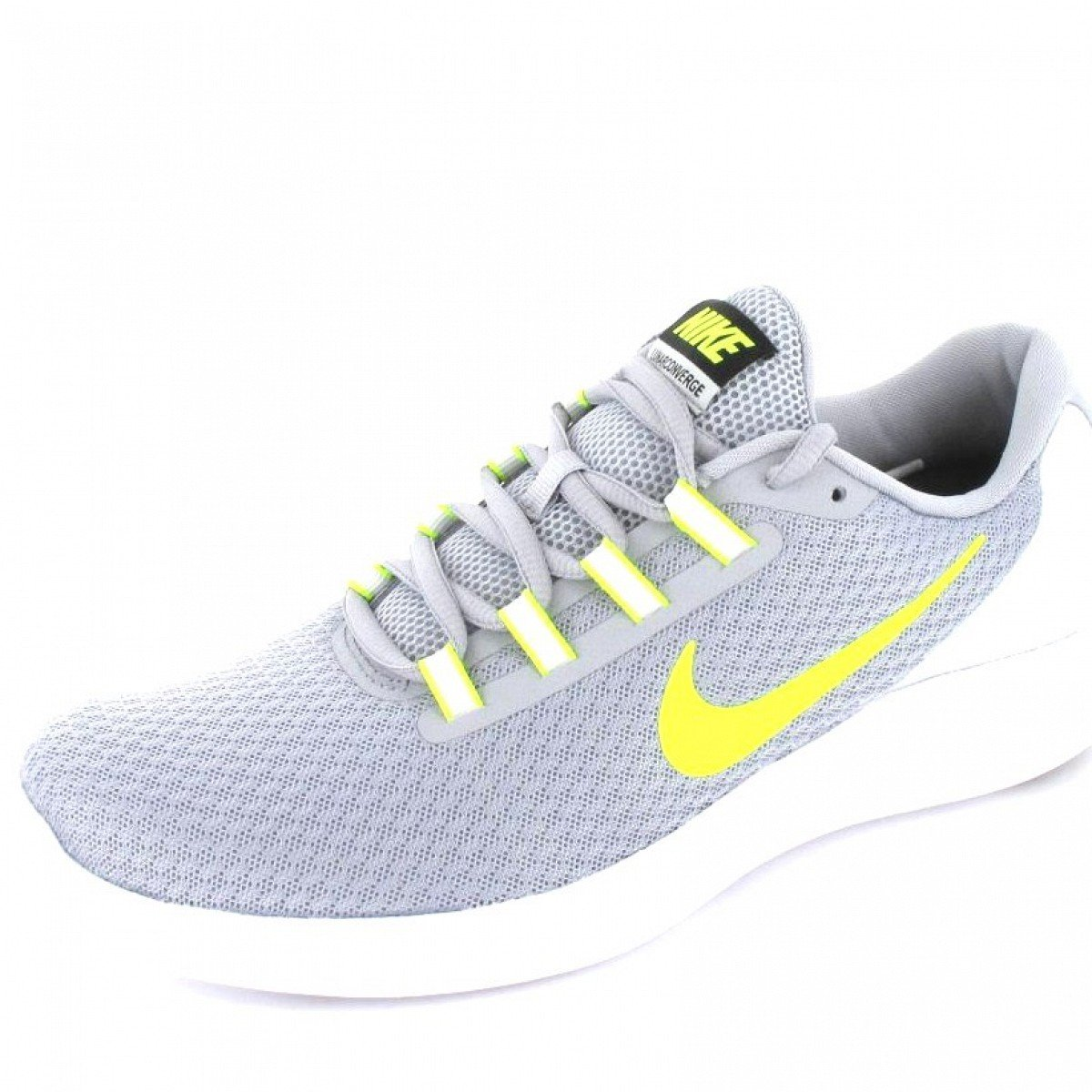 NIKE Men's Lunarconverge Running Shoes B01N6X8SK9 11.5 D(M) US|Wolf Grey/Volt/Pure Platinum/White