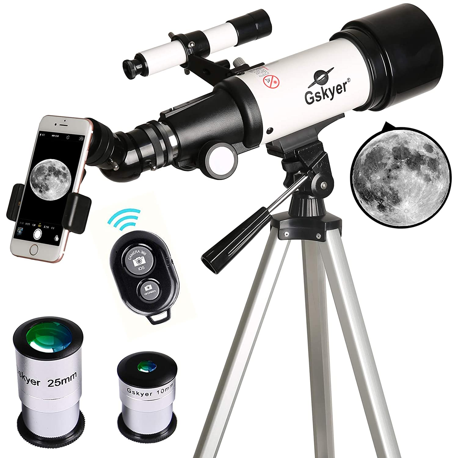 Gskyer 70mm best beginner telescope