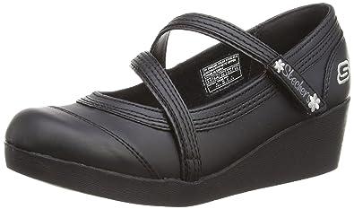 Kids Best Girl, Chaussures filles Noir - noir - 27.5 EU (10 UK Child)Skechers