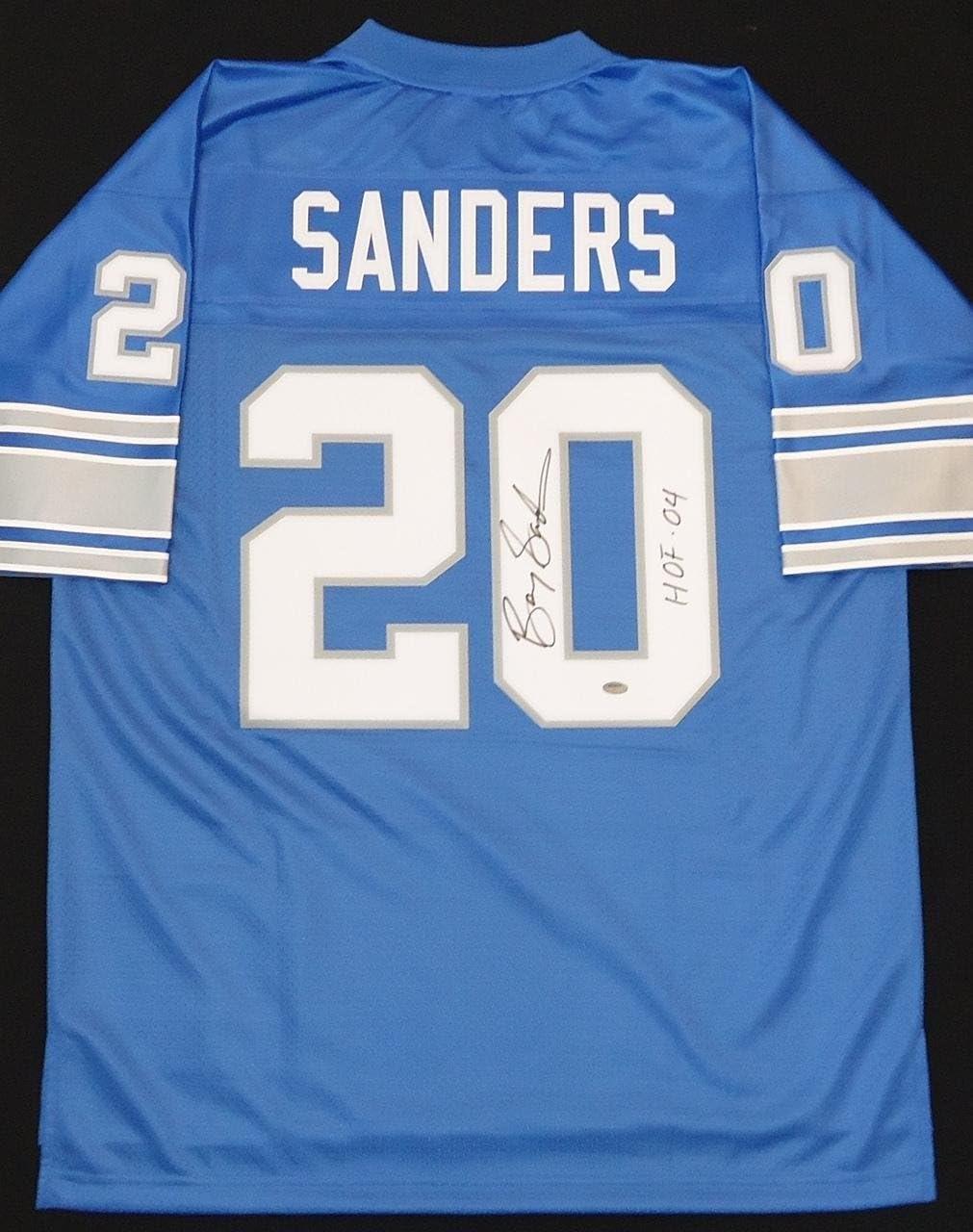 detroit lions barry sanders jersey