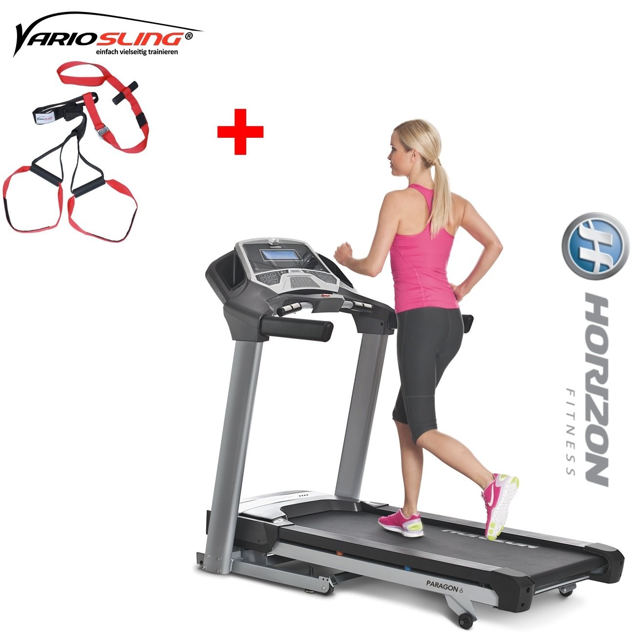 Horizon Cinta de Correr Fitness Paragon 6 Fitness Dispositivo ...