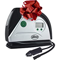 Slime 12 Volt Digital Tire Inflator With LED Light and Auto Shutoff Technology