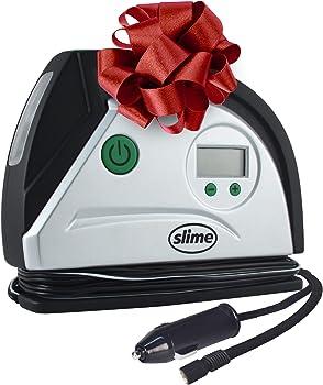 Slime 12 Volt Digital Tire Inflator With LED Light
