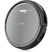 ILIFE A4s Robot Aspirador, Robot de limpieza para suelos, Control Remoto, Autom¨¢tico Carga, Dise?o para Pisos Duros y Alfombra