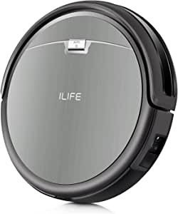 ILIFE A4s Robot Vacuum Cleaner with Powerful Suction,Multiple Cleaning Modes, Suitable for Thin Carpet and Hard Floor