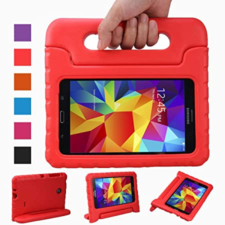 NEWSTYLE Samsung Galaxy Tab 4 7.0 Zoll Eva Stoßfeste Schutzhülle Tragbar für Kinder mit Ständer Schutzhülle Standfunktion für
