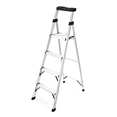 Rubbermaid RMA-5XS 5.5 Ft. Aluminum Project Top Step Ladder,