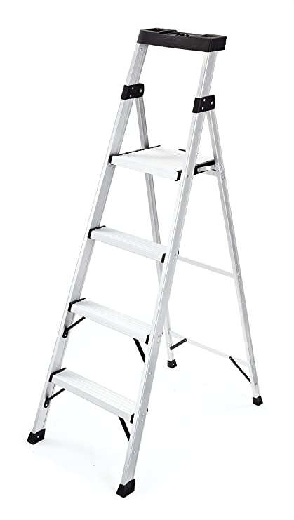 Remarkable Rubbermaid Rma 5Xs 5 5 Ft Aluminum Project Top Step Ladder Cjindustries Chair Design For Home Cjindustriesco