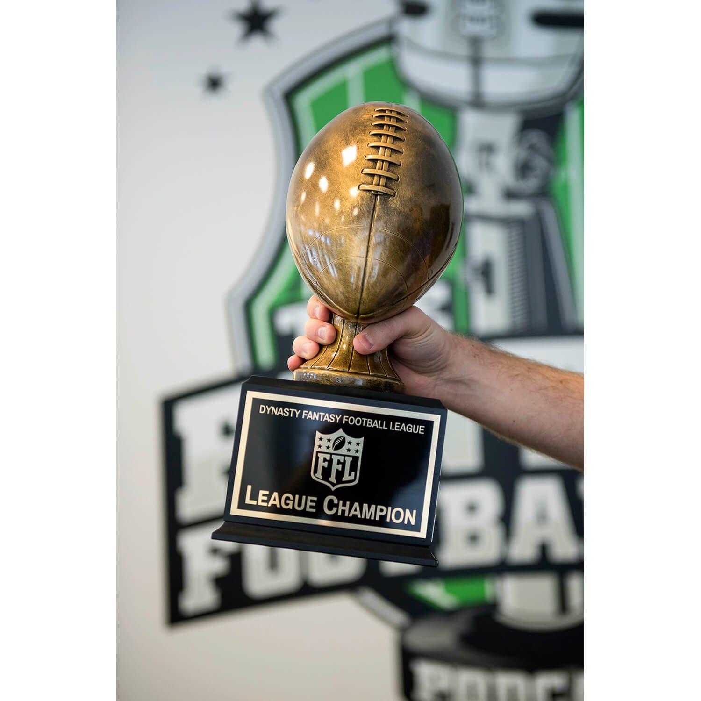 Amazon.com: Fantasy – TROFEO de fútbol oro/bronce perpetuo ...