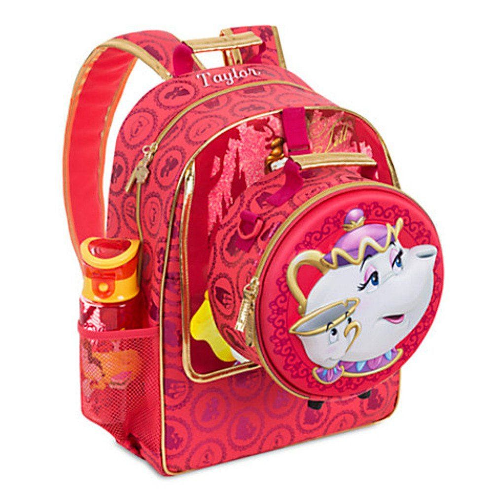 Disney Store Princess Belle Backpack & Lunch Bag Set