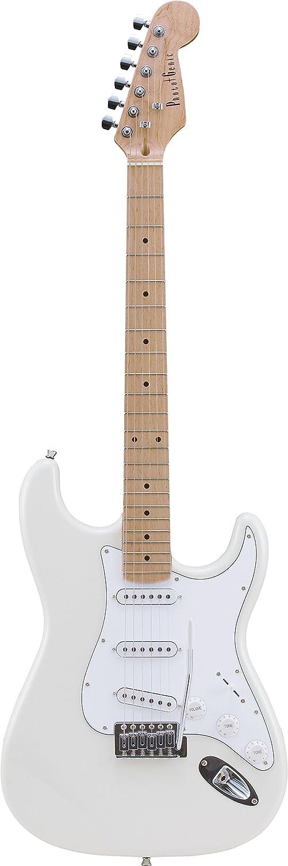 PhotoGenic フォトジェニック エレキギター ストラトキャスタータイプ ST-180M/WH ホワイト  ホワイト/M B00153ZMYU