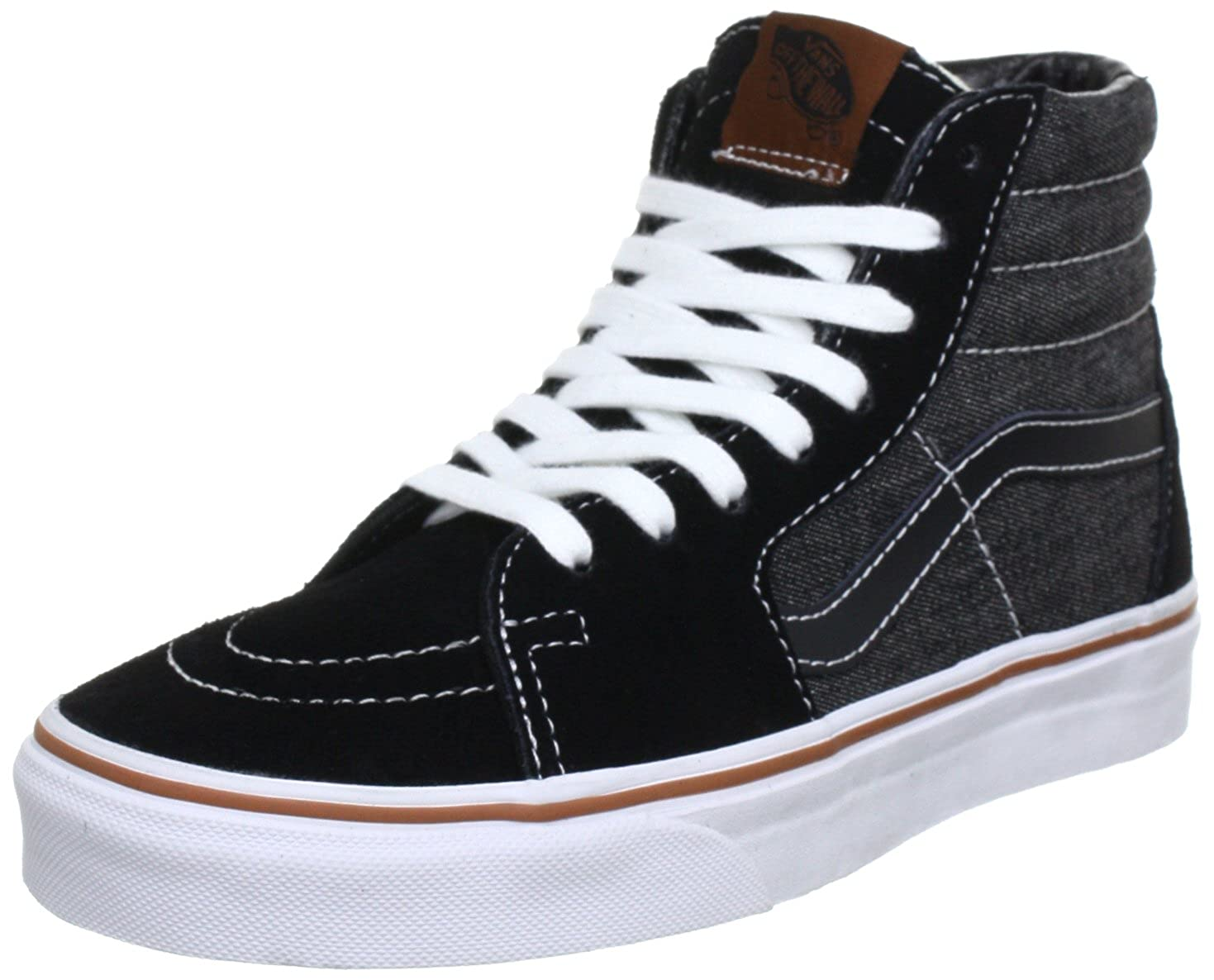 Vans Unisex - Adult U SK8-HI DARK SHADOW/GRE High Top Black ...