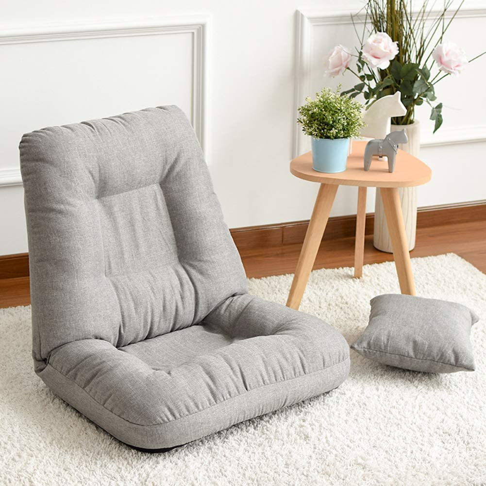 Amazon.com: XY&YD Tatami Floor Chair Japanese Zaisu ...