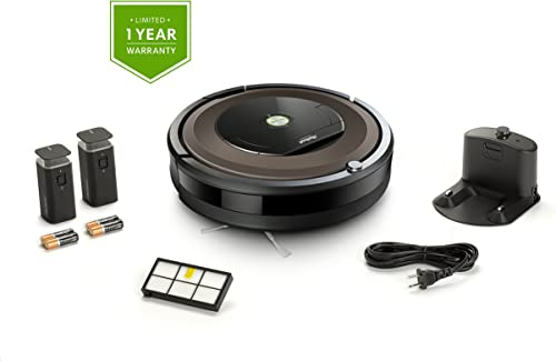 iRobot Roomba 890 Robot Vacuum Bundle- Wi-Fi Connected, Ideal for Pet Hair 1 Extra Virtual Wall