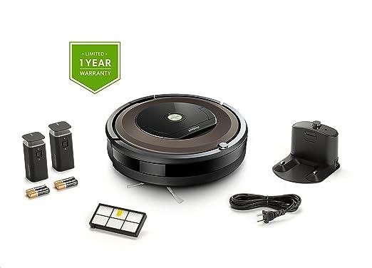 iRobot Roomba 890 Robot aspiradora Bundle - Wi-Fi Conectado, Ideal ...