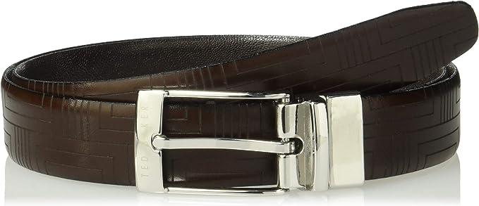 Tony Lama Mens Westerly Ride Leather Belt Reg and Big Tan 40