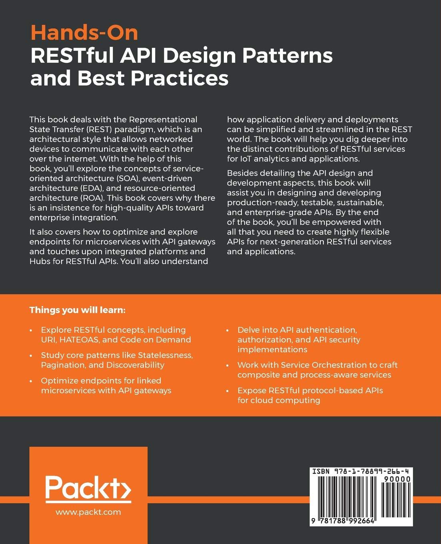 Hands-On RESTful API Design Patterns and Best Practices: Design