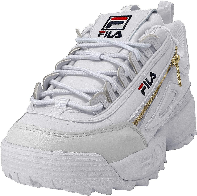 Fila Womens Disruptor 2 Zipper Sneakers: Amazon.es: Zapatos y ...
