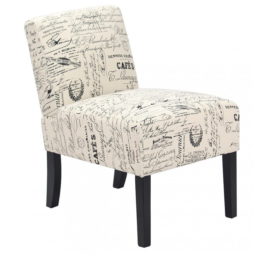 Urban Style Accent Chairs sofa side Chairs w/ Solid Wood Legs Home Furniture Bestmassage