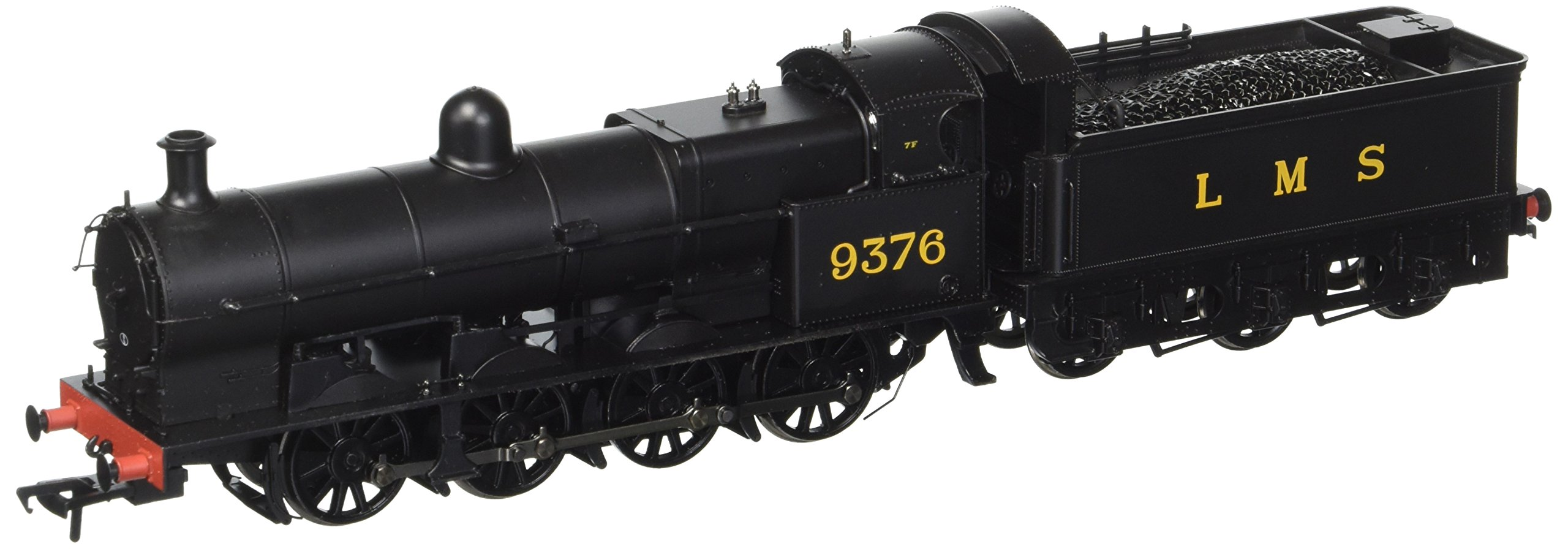 Busch 31-480 G2A 9376 Lms Black with Tender Back Cab OO Scale Model Train