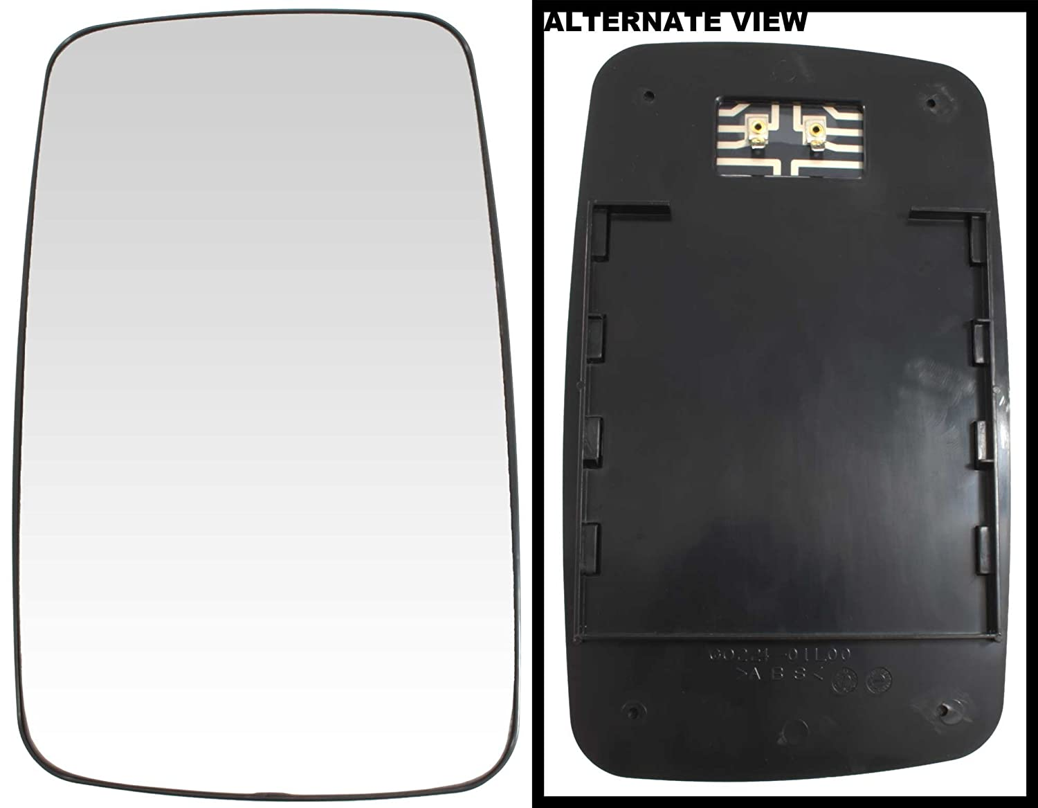 APDTY 67395 Replacement Left Side View Mirror Glass Fits 2003-2006 ...